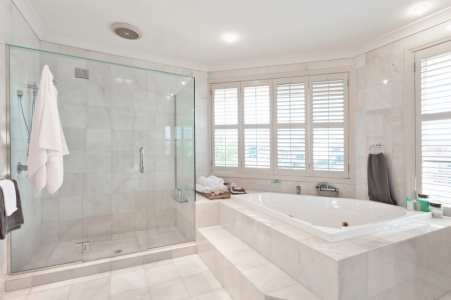 Bathroom renovation by James River Remodeling