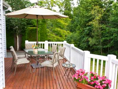 Outdoor living spaces by James River Remodeling
