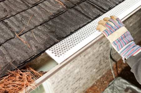 Gutter services by James River Remodeling