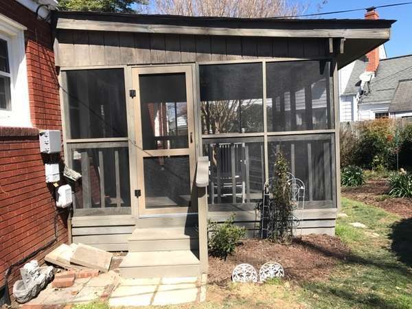 Rescreening Porch in Suffolk, VA (1)