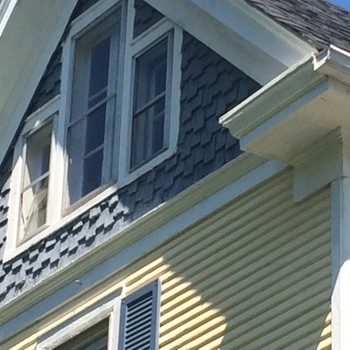 Rehabbing an old Victorian home with rotted cornice and trim Hampton, VA
