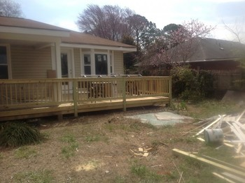 New Deck and Bay Hampton, VA