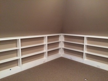Storage solution by James River Remodeling