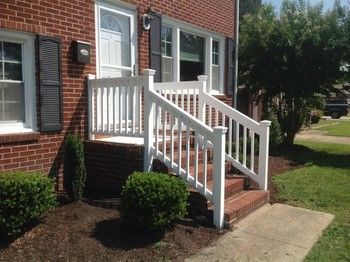 New Porch Rails Hampton VA