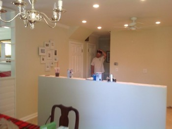Full kitchin remodel.      Painting. Plumbing, tile, drywall, electrical, plaster repair, demo, framing, all included