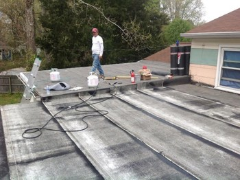 Flat Roof Replacement in Hampton VA
